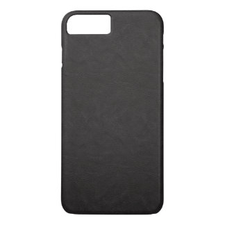 Textured Black Leather iPhone 7 Plus Case
