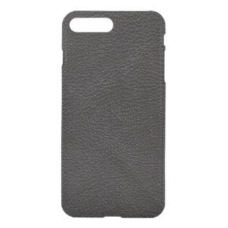 Textured Black Leather iPhone 8 Plus/7 Plus Case
