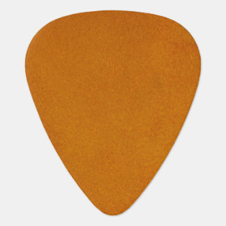 Textured Burnt Orange Guitar Pick