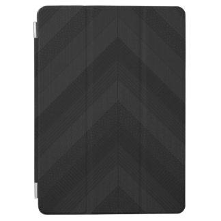 Textured Dark Stripes iPad Air Cover