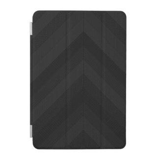 Textured Dark Stripes iPad Mini Cover