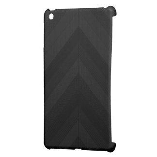 Textured Dark Stripes iPad Mini Covers