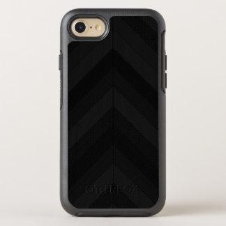 Textured Dark Stripes OtterBox Symmetry iPhone 8/7 Case
