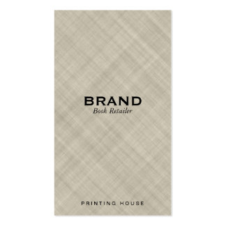 Textured Fabric Pack Of Standard Business Cards