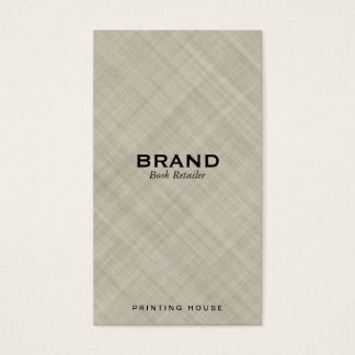 Textured Fabric Business Card