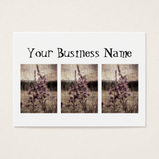 Textured Fireweed Business Card