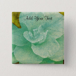 Textured Flower by Shirley Taylor 2 Inch Square Button