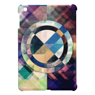 Textured Geometric Shapes Cover For The iPad Mini
