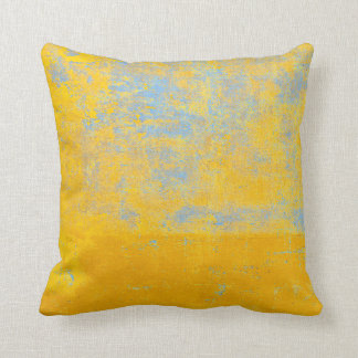 textured gold throw pillow