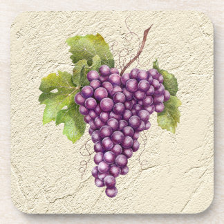 Textured Grapes Coasters