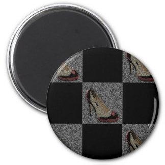 Textured High Heels Magnet