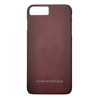 Textured Look with Upscale Manly Design iPhone 8 Plus/7 Plus Case