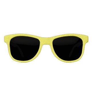 Textured Look Yellow Sunglasses