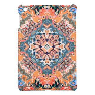 Textured Mandala Pattern iPad Mini Cases
