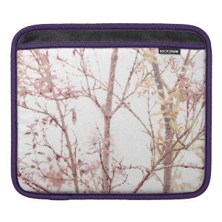 Textured Nature Print iPad Sleeve