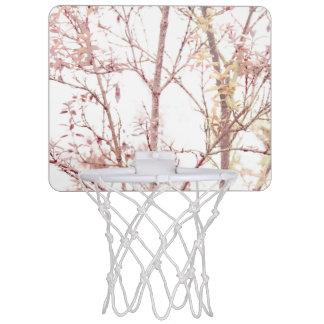 Textured Nature Print Mini Basketball Hoop