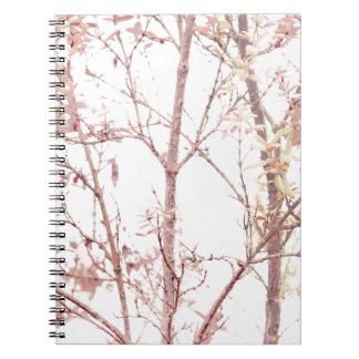 Textured Nature Print Notebooks