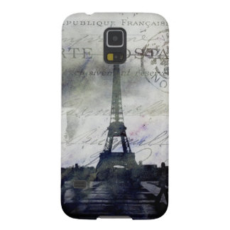 Textured  Paris in Lavender Galaxy S5 Case