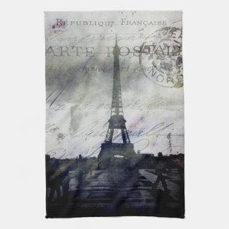 Textured Paris in Lavender Towels