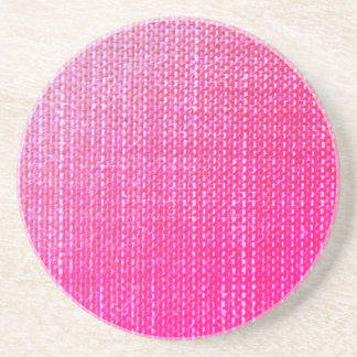 Textured Pink Coaster