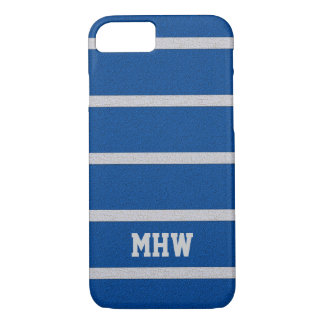 Textured Stripes custom monogram cases