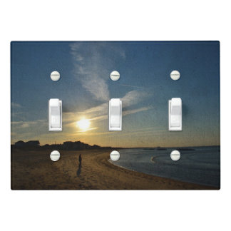 Textured Sunset by Shirley Taylor Light Switch Cover