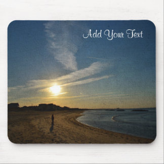 Textured Sunset by Shirley Taylor Mouse Pad