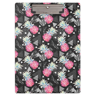 Textured Triangle Pineapple Pattern Clipboard