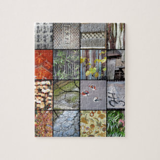 Textures of Japan Jigsaw Puzzle