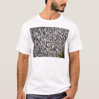 Textures of stone and Green plant T-Shirt