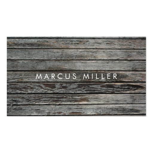 TEXTURES   WOOD   BUSINESS CARD