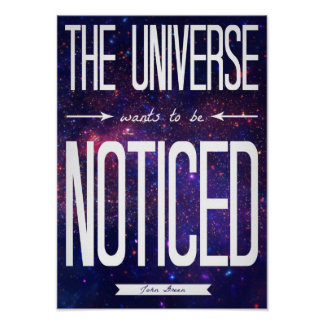 TFiOS que l univers veut être affiche notée