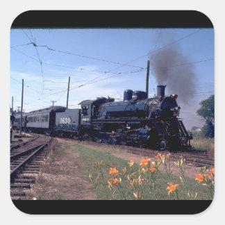 TFrisco 2-10-0 Russian Decapod_Trains Square Sticker