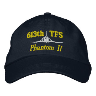 TFS F-4 Golf Hat Embroidered Hats