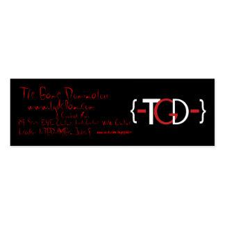 {-TGD-}Promotional Card Mini Business Card