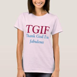 TGIF t shirt. T-Shirt