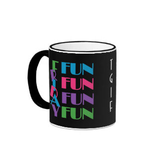 TGIF vendredi ! Amusement d'amusement d'amusement  Mug À Café