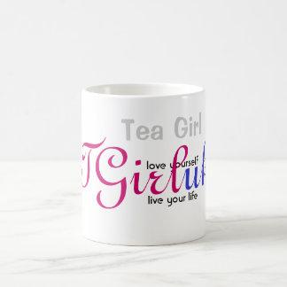 """TGirl Mug """"love yourself, live your life"""""""