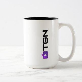 TGN Mug — vertical signature