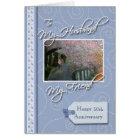 __th Anniversary - My Husband, Friend Card