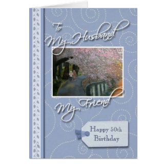 __th Birthday - My Husband, Friend Card