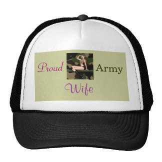 th_p41, Proud , Army, Wife Trucker Hat
