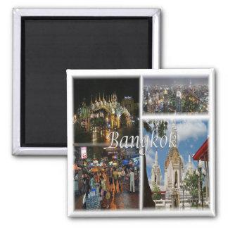 TH * Thailand - Bangkok Thailand Square Magnet