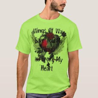 th_thbrokenherat, Wings Of WaxGave You My Wings... T-Shirt
