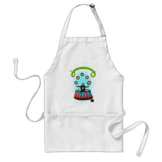 tha amazing hedgehog juggling sloth standard apron