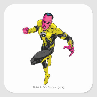 Thaal Sinestro 1 Square Sticker