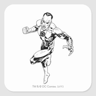 Thaal Sinestro 3 Square Stickers