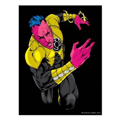 Thaal Sinestro 7 Post Card
