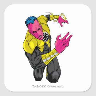 Thaal Sinestro 7 Square Stickers