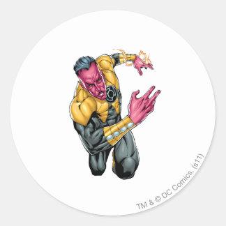 Thaal Sinestro 8 Round Sticker